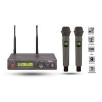 Roof R1200Ee İkili Telsiz El Mikrofonu