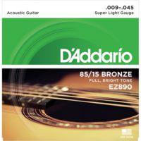 Daddarıo Ez890 Akustik Tel Set Super Light (.009) Z890