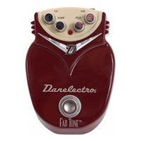 Danelectro Dd-1 Distortion Pedal Fab Tone