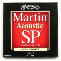 Martin Msp3100 012 Akustik Gitar Teli Bronze Lıght
