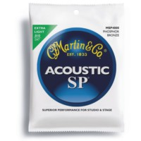 Martin Msp4000 Akustik Gitar Teli - Msp4000 Extra Light