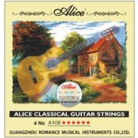 Alice A-106-H4 Klasik Gitar Teli - 4 Numara