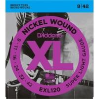 Daddario Exl120 Elektro Gitar Teli 0,9