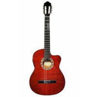 Carissa Cg-200Nt İnce Kasa Elektro Klasik Gitar