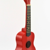 Ukulele Gonzales Kırmızı XU21-3 RDS Soprano Ukulele