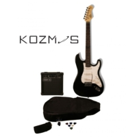Kozmos Kgp-Stg10-Bk Başlangıç Elektro Gitar Paketi