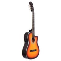 Rodriguez Klasik Gitar Kesik Kasa Eq Günbatımı Rcce650Sb