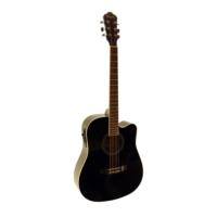 Segovia Elektro Akustik Gitar Segovia Sga41Eq4Bk