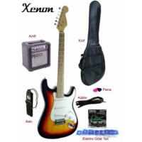 Xenon Elektro Gitar Seti Xne3Sbset