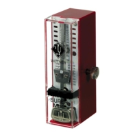 Metronom Mekanik Süper Mini Bordo 884051