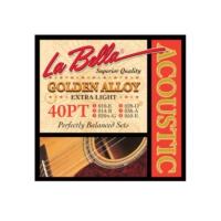 Gitar Aksesuar Akustik Tel Labella 40PT 0,10