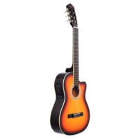 Gitar Klasik Rodriguez Kesik Kasa EQ Günbatımı RCCE650SB