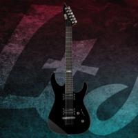 Esp Ltd M-10 Black Elektro Gitar + Gigba
