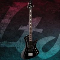 Esp Ltd Stream-204 Black Bas Gitar
