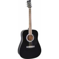 Jay Turser Jj-45-Pak-Bk Akustik Gitar