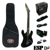 Esp Gitar Elektro Ltd M-Guıtar Pack/Blks (Lmpackblks)