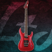 Esp Ltd Mh-327 Flamed Maple Seeing Thru Red Elektro Gitar