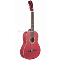 Carissa Cg-160 Red 4/4 Tam Boy Gitar