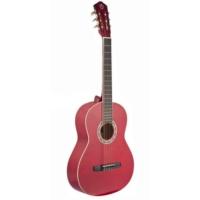 Castle Csg-160 Red 4/4 Tam Boy Gitar