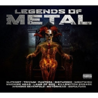 Warner Various Artists - Legends Of Metal