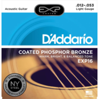 Daddarıo Exp16 Akustik Tel Set 012 Coated Light(.012) Xp16
