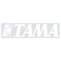 Tama Tls100Wh Logo Sticker (Wh) Siyah Deri İçin Beyaz Renk Logo