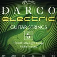 Martin D9300 09-42 Elektro Gitar Teli Darco (Extra Light)
