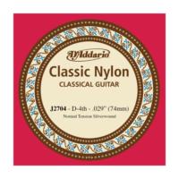 Daddarıo J2704 Klasik Gitar Tek Teli 4 No,Re Teli