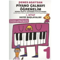Bemol Yn. Denes Agay'Dan Piyano Çalmayı Öğrenelim 1