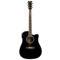 Bolero AN-20 BK Elektro Akustik Gitar