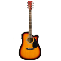 Bolero AN-20 SB Elektro Akustik Gitar