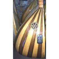 Gold Ceviz Ağacı Uzun Sap Ekolayzırlı Bağlama Koyu Renk