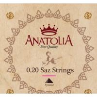 Anatolia 0.20 Uzun Sap Bağlama Tel Seti