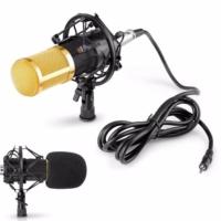 Bm Condenser Stüdyo Profesyonel Kayıt Ve Yayın Mikrofonu
