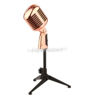 D-Sound - Ds-55C Copper (Bakır) Nostaljı Mikrofon