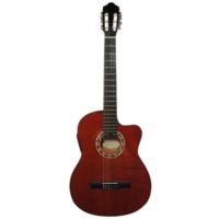 Carissa Cg-200 Sce Nat İnce Kasa Elektro Klasik Gitar