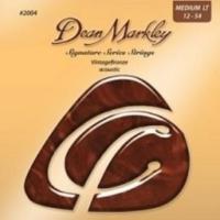 Dean Markley 2004 (12-54) - Bronze Medium Light Akustik Gitar Tel Seti