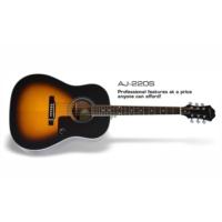 Epiphone AJ220 Vintage Sunburst Akustik Gitar