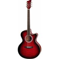 Jay Turser JTA-424QCET-RSB Elektro Akustik Gitar