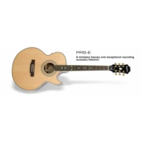 Epiphone EEP5NAGH1 PR-5e Natural Gld Hdwe Elektro Akustik Gitar