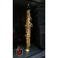 Fox YSA-7318L Soprano Saksafon (Gold Lacquer)