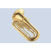 Jupiter JCB-382L (3 Valve) Tuba (Gold Lacquer)