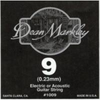 Dean Markley Plain Steel Elektro Gitar Teli (Tek Tel) (0.9) - 1009
