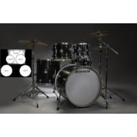 Ludwig LCF50P016 Black Element Pop 5 Parça Akustik Davul