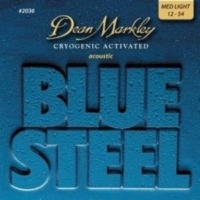 Dean Markley Blue Steel 2036 (12-54) - Medium Light Akustik Gitar Tel Seti