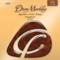 Dean Markley 2002 (11-52) - Vintage Bronze Light Akustik Gitar Tel Seti