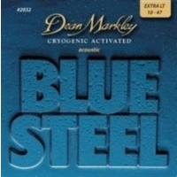 Dean Markley Blue Steel 2032 (10-47) - Extra Light Akustik Gitar Tel Seti
