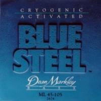 Dean Markley Blue Steel Medium Light 2674 (45-105) - Bas Gitar Tel Seti