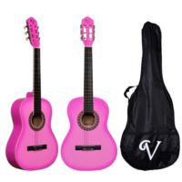 Victoria Klasik Gitar Seti Kılıf ve Pena Hediyeli 3/4 CG160PNK