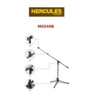 HERCULES MS540B Masaüstü Mikrofon Sehpası